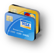 Payment by credit cards
