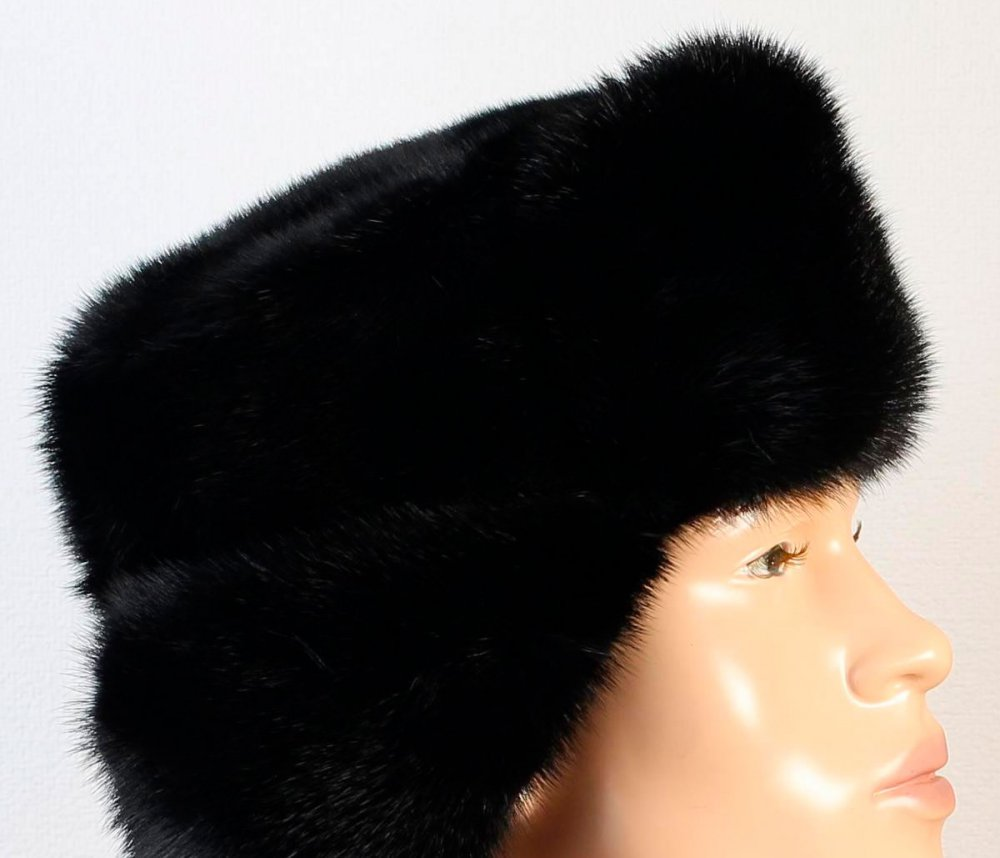 Headdress fur hat Fur of the tsigal sheep, fur grey in assortment of the sizes 58-60-62