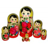 Nesting doll Semenovo 8 pcs