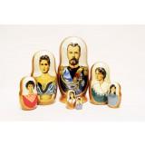 Nesting doll 7 pcs. Tsars