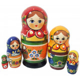 Nesting doll Traditional 5 pcs