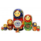 Nesting doll Traditional 10 pcs.