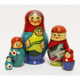 Nesting doll Sergiev-Posad 5 pcs. Children