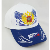 Headdress Baseball cap Russia, Russian coat of Arms, wings, white...