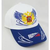 Headdress Baseball cap Russia, Russian coat of Arms, wings, white...