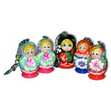 Keychain matreshka in assortment