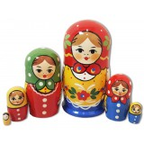 Nesting doll Traditional 6 pcs.