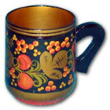 Khokhloma gift Mug medium