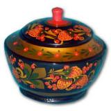 Khokhloma gift Sugar bowl