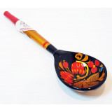 Khokhloma for food Wooden Spoon small