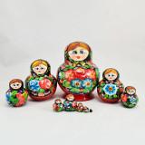 Nesting doll Sergiev-Posad 10 pcs. Patal