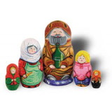 Nesting doll Sergiev-Posad 5 pcs. family