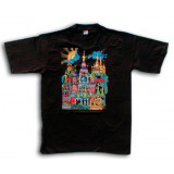 T-shirt XL St. Bazils Cathederal M black