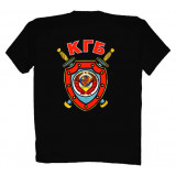 T-shirt XXL The arms KGB XXL black