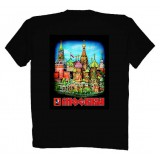 T-shirt XL Moscow Red Square XL black