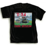 T-shirt XL T-34, black, XL