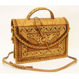 birch bark products women's handbag Bag female, the size 24 x 21 x...