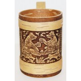 birch bark products mug Mug, Bears