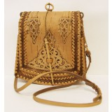 birch bark products women's handbag The bag the Trapeze, the size...