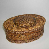 birch bark products box St. Basil's Cathederal