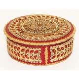 birch bark products box The round