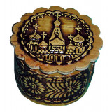 birch bark products box round 3 Cathedral