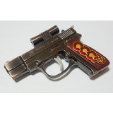 Lighter Pistol, With the red laser