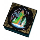 Lacquer Box Snowmaiden