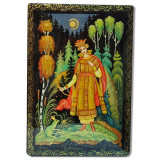 Lacquer Box Kholuy Frog-princess