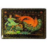 Lacquer Box Kholuy Fiery - bird