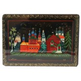 Lacquer Box Kholuy Village of  Uglich