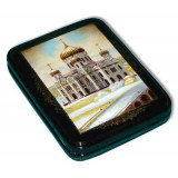 Lacquer Box Fedoskino The Cathedral of Christ the Savior author...