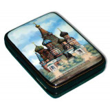 Lacquer Box Fedoskino St. Basil Cathedral