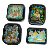 Lacquer Box Palekh in assortment