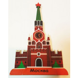 Magnet wooden Kremlin