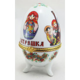 Easter egg porcelain matrioshkas small