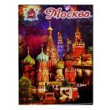 "Magnet metal 02-19K22 metal flat ""Moscow..."