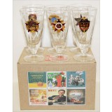 Ware Set of wine-glasses high with symbolics in assortiment...
