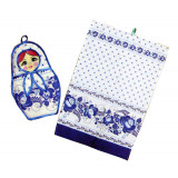 Textiles set 2 pcs. Matrioshka (A20046)