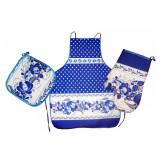 Textiles Set 3 pcs. Gzhel (A30002)