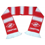 Scarf woolen Spartak Moscow red- white