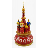 Musical cathedral - a breadboard model Russia, red, 21 cm,...