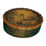 birch bark products box 10512/11 Deer