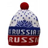 Headdress woolen hat Woollen, a snowflake