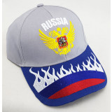 Headdress Baseball cap in assortiment, embroidery Russia