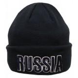 Headdress woolen hat The woollen blue