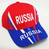Headdress Baseball cap Russia, Russian coat of Arms, red  top, blue...
