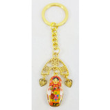 Keychain 01-34-26K Metal a nested doll