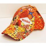 Headdress Baseball cap Abstraction, orange tone