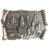 Magnet metal 027-2ATN-19K23 relief scroll Moscow Spassky tower...